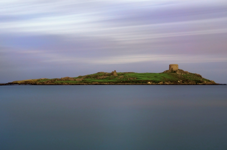 Dalkey Island / Moonlight / Sep '11 © ian Keegan Photography 2011, email ian.p.keegan@gmail.com Copyright and Related Acts 2000,moral rights asserted credit required . No part of this photo to be stored, reproduced, manipulated or transmitted to third parties by any means without prior written permission.