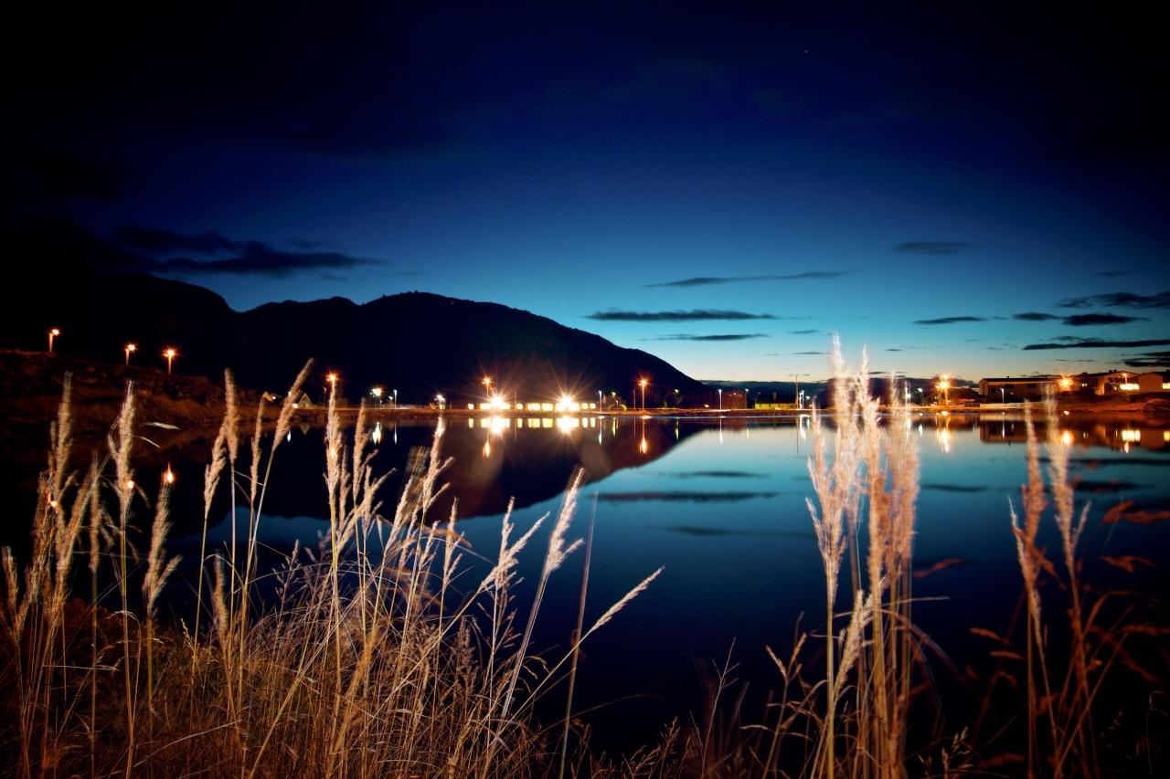 breidablikkvannet by night | Hammerfest, Norway